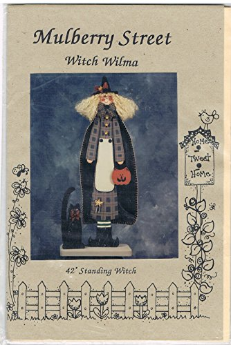 Witch Wilma Decorative Wood Painting Pattern