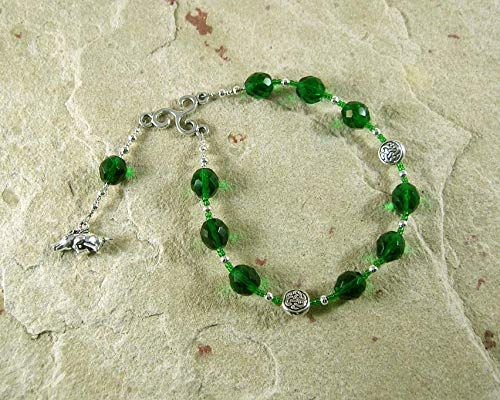 Arduinna Pocket Prayer Beads: Gaulish Celtic Goddess of the Forest