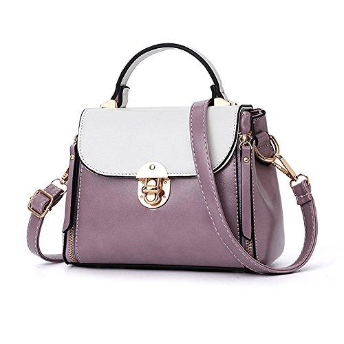 Messenger FLHT Wild Summer Hombro Bag Leather Purple Tote Bag Sra Mini Simple rFBIWqwr6