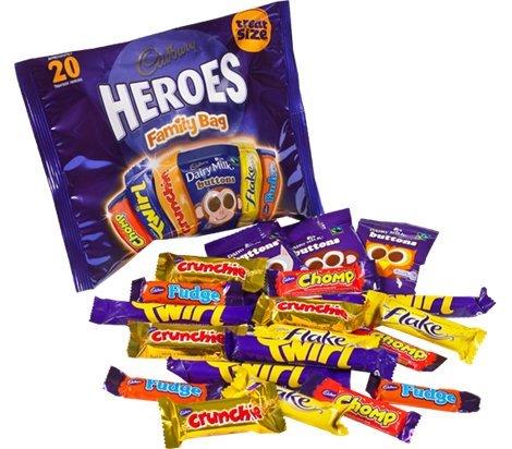 Cadbury Heroes Family Bag