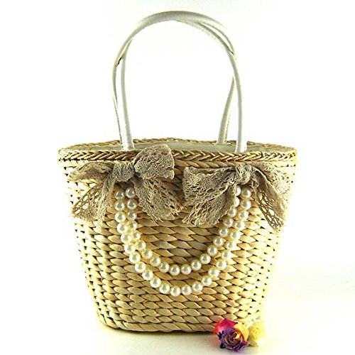 Bag White Meoaeo White New Straw Bag wvAfaX76fq