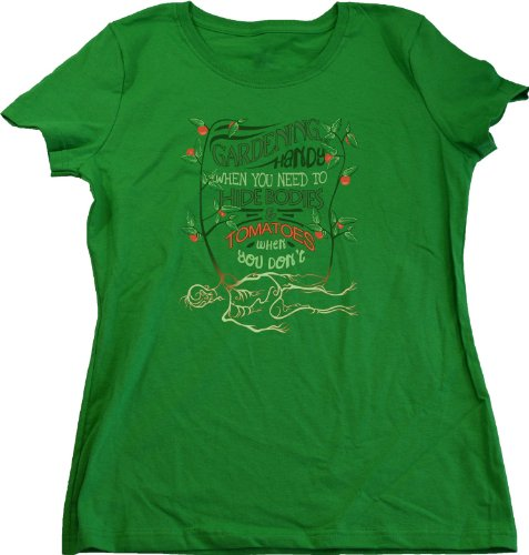Ann Arbor T-shirt Co. Women's Gardening...Handy When You Need to Hide... Tee