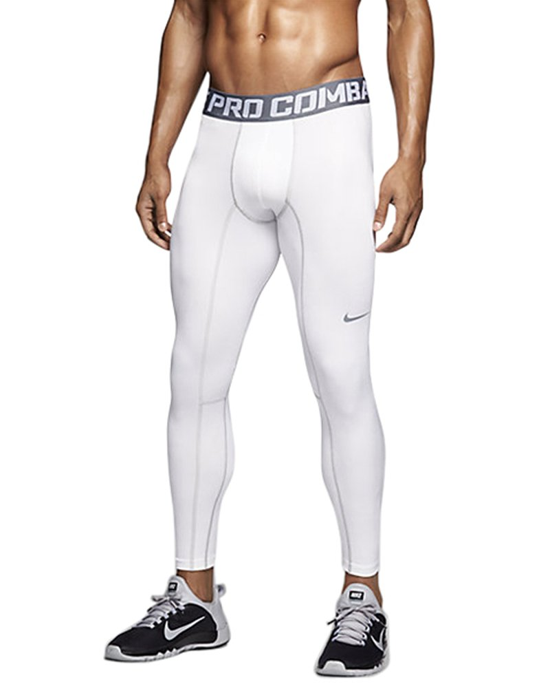 Amazon.com : Nike Men's Pro Warm Compression Lite Tights : Sports & Outdoors