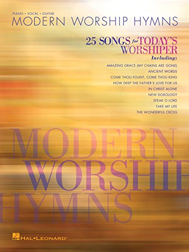 Hal Leonard Modern Worship Hymns - 25 Songs for Today