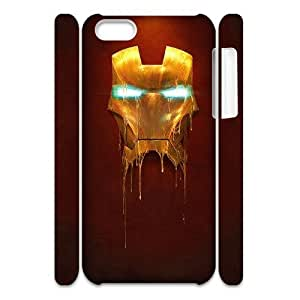 WINDFC Avengers Age of Ultron iron man Phone 3D Case For Iphone 5C [Pattern-6]