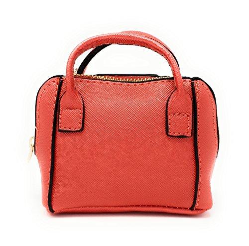 Etui Rouge Accessoires Femmes Porte Bourse Mini Sac Monnaie Petite Clair malito T600 Port E5WqRP6wwx