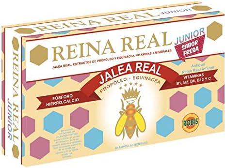 Robis Reina Real Junior Jalea para Niños - 20 Unidades: Amazon ...