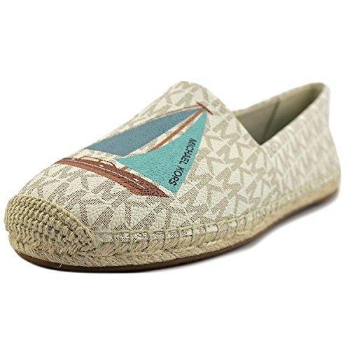 Michael Kors Flat Shoes (Michael Kors Womens Kendrick Closed Toe Espadrille Flats, Vanilla, Size 10.0)