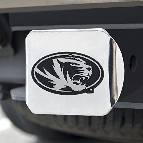 FANMATS NCAA University of Missouri Tigers Chrome Hitch Cover