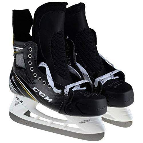 Black Junior CCM Unisex RH9060 Tac Jr Player in Line Skates