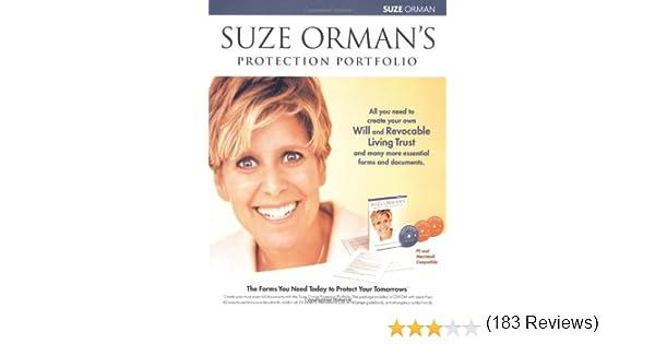Suze Orman Protection Portfolio: Suze Orman: 0656629002903: Amazon ...