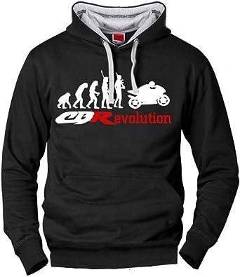 Sudadera Honda CBR Evolucion Hombre, Fabricado Y ENVIADO Desde ...