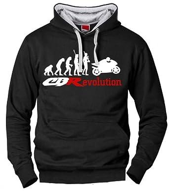 Sudadera Honda CBR Evolucion Hombre, Fabricado Y ENVIADO Desde ESPAÑA, Tallas Y Calidad Europeas
