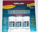 Kirkland Signature Lansoprazole 3 Pack, Health Care Stuffs