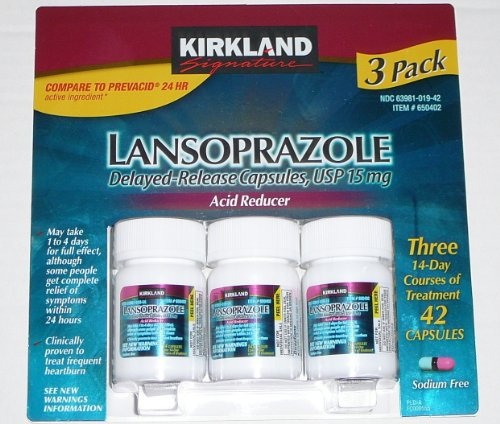 Kirkland Signature Lansoprazole 3 Pack, Health Care Stuffs