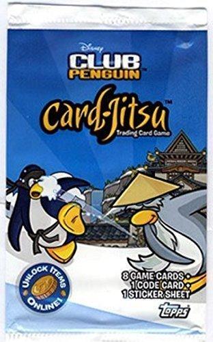 - 2009 Topps Disney Club Penguin Card Game Blister Pack ~ 1 Pack