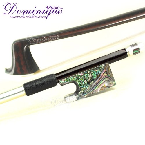 Master Carbon Fiber 4/4 Violin Bow with Abalone Frog-D Z ...