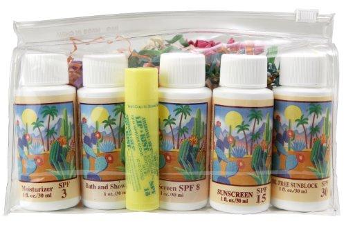 Cosmetic Travel Bag - Five - 1 oz. Skin Care - Plus Lipkist