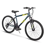 Huffy Hardtail Mountain Bike, Summit Ridge 24-26 inch 21-Speed, Lightweight