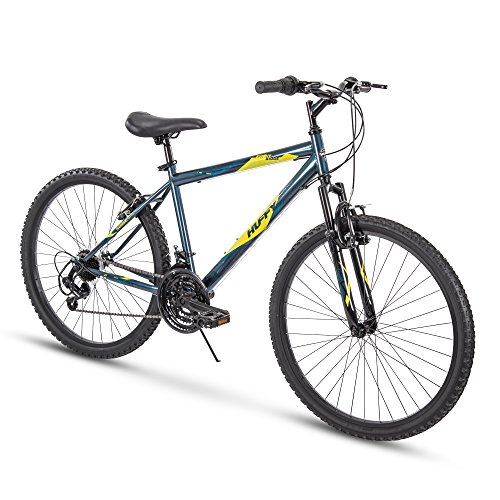 Huffy Hardtail Mountain Bike, Summit Ridge 24-26 inch 21-Speed, Lightweight (Best Mens Mountain Bike Under 200)