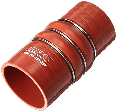 HPS CAC-275-300-HOT Silicone High Temperature 4-ply Aramid Reinforced Charge Air Cooler CAC Hose Hot Side, 100 PSI Maximum Pressure, 6