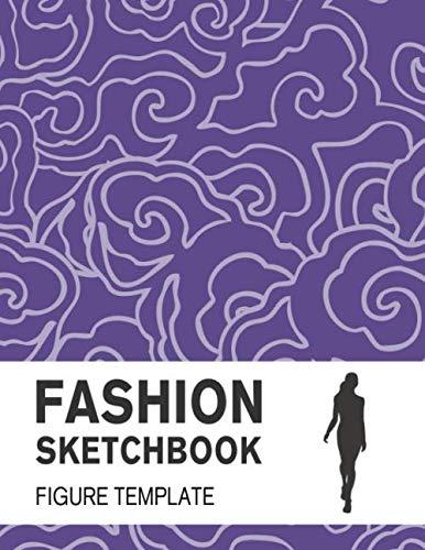 (Fashion Sketchbook Figure Template: Easily Sketch Your Fashion Design with Large Figure Template)