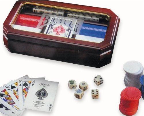 US Playing Cards Bicycle Executive Poker Set