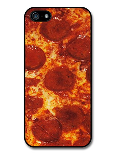 Cool Gross Pepperoni Pizza Grease Food Grunge Hipster Design case for iPhone 5 5S