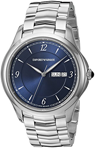 Emporio-Armani-Swiss-Made-Mens-Esedra-Quartz-Stainless-Steel-Casual-Watch-ColorSilver-Toned-Model-ARS8602