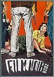 "Wall Calendar 2020 [12 pages 8""x11""] Film Noir Action Detective # Vintage Trash Movie Posters Reprint"
