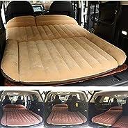 Berocia SUV Air Mattress, Thickened Car Bed Inflatable Home Air Mattress Portable Camping Outdoor Mattress, Fl