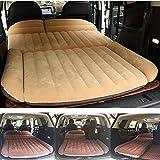 Berocia SUV Air Mattress, Thickened Car Bed Inflatable Home Air Mattress Portable Camping Outdoor Mattress, Flocking Surface, Fast Inflation (Mattress 3)