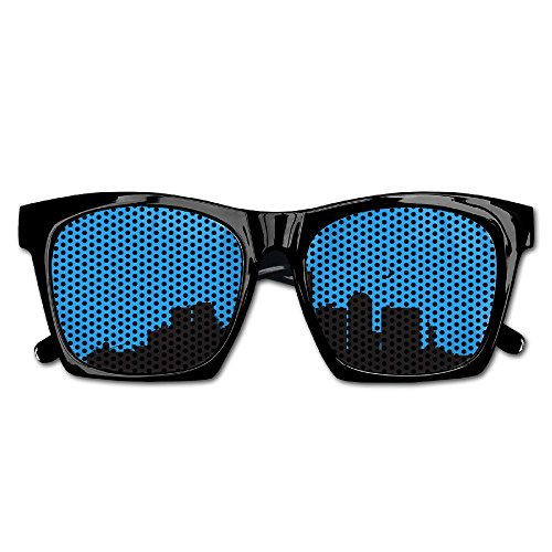 Xing Stars Colorful Summer Unisex Vector Cityscape Silhouette Fashion Party Costume - Vector Sunglasses
