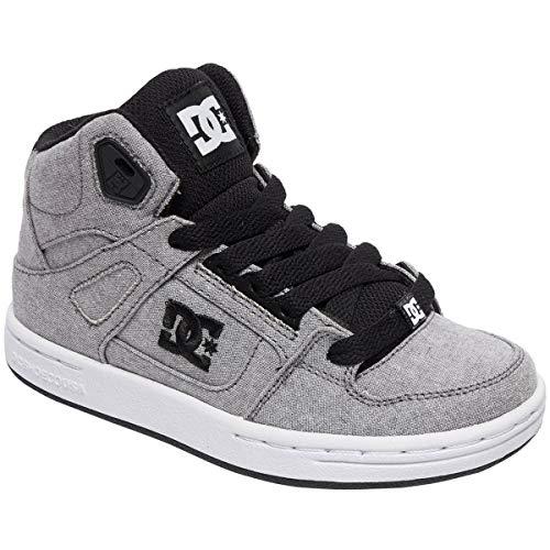 - DC Boys' Pure HIGH-TOP TX SE Sneaker Grey 11 M M US Little Kid