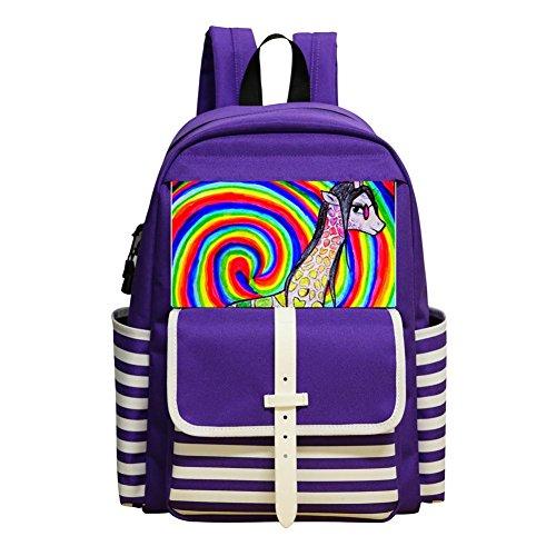 Tie Dye Zebra Backpacks Daypack Shoulder Bag School Rucksack Back to (Tie Dye Zebra)
