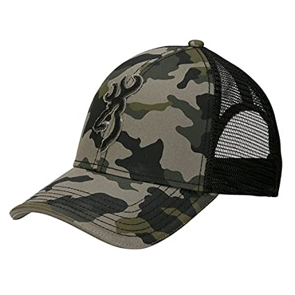 finest selection 8f7aa 73157 Amazon.com   Browning 308012291 Stalker Cap, Meshback, Camo   Sports    Outdoors