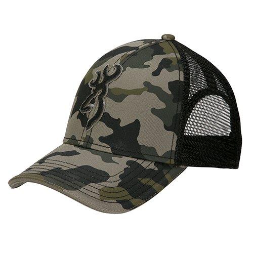 Browning 308012291 Stalker Cap, Meshback, Camo