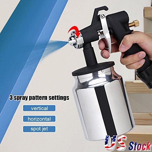 Maximumstore - 650W 1000mL Electric Easy Paint Spray Gun Painter Zoom Through House Painting