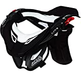 Leatt Pro Lite Neck Brace (Carbon/White, Small/Medium)