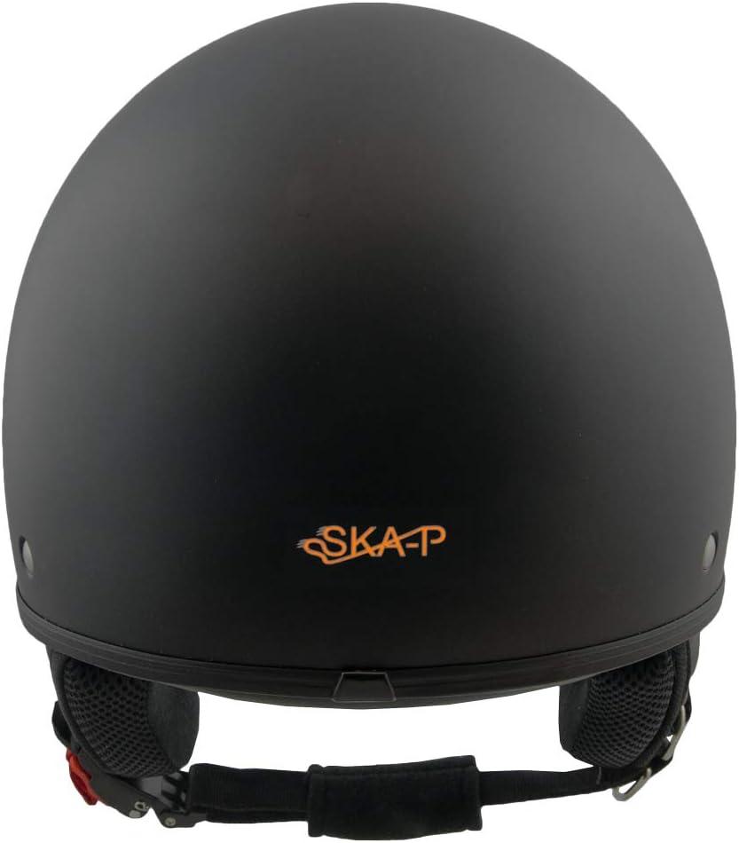 Taille L SKAP Casque Jet 1FH Smarty Noir Mat