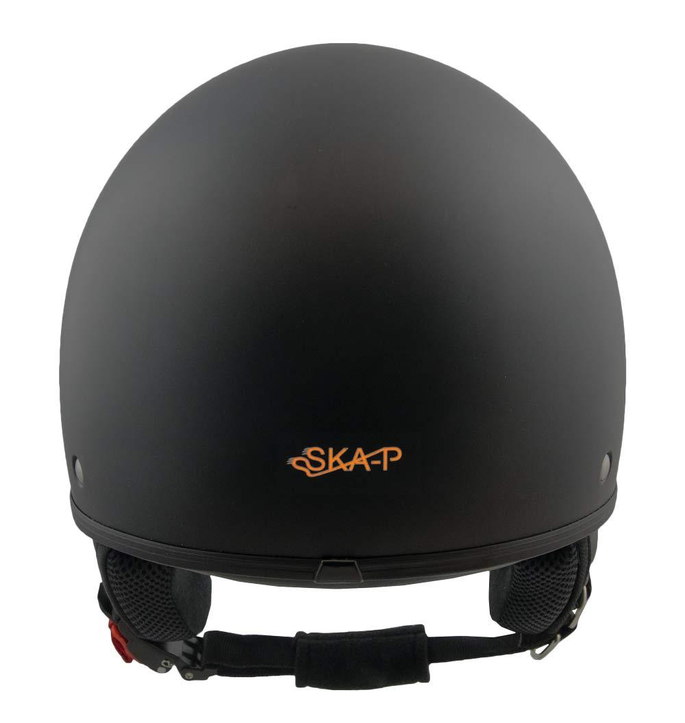 M SKA-P 1FH-DFA-01 NEGRO GOMA CASCO JET 1FH SMARTY VISERA