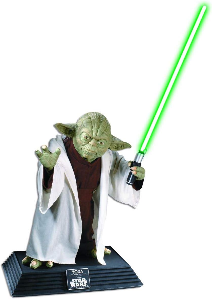 B00007BGCA Star Wars Collector Life Size Yoda Statue 51YejCmA5CL.SL1200_