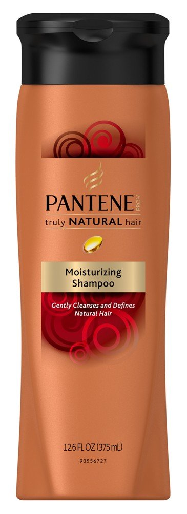 Pantene Truly Natural Shampoo 12.6 Ounce (375ml) (6 Pack) by Pantene