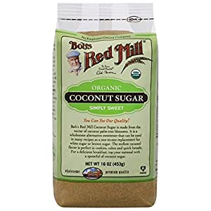 Bob's Red Mill Organic Coconut Sugar 16 oz (453 grams) Pkg