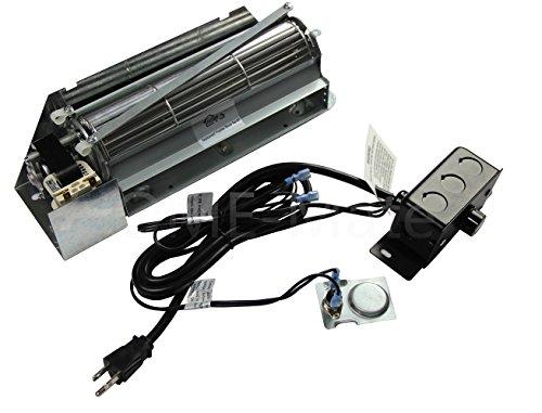 Hongso FBK-250 Replacement Fireplace Blower Fan KIT for Lennox, Superior, Rotom HB-RB250