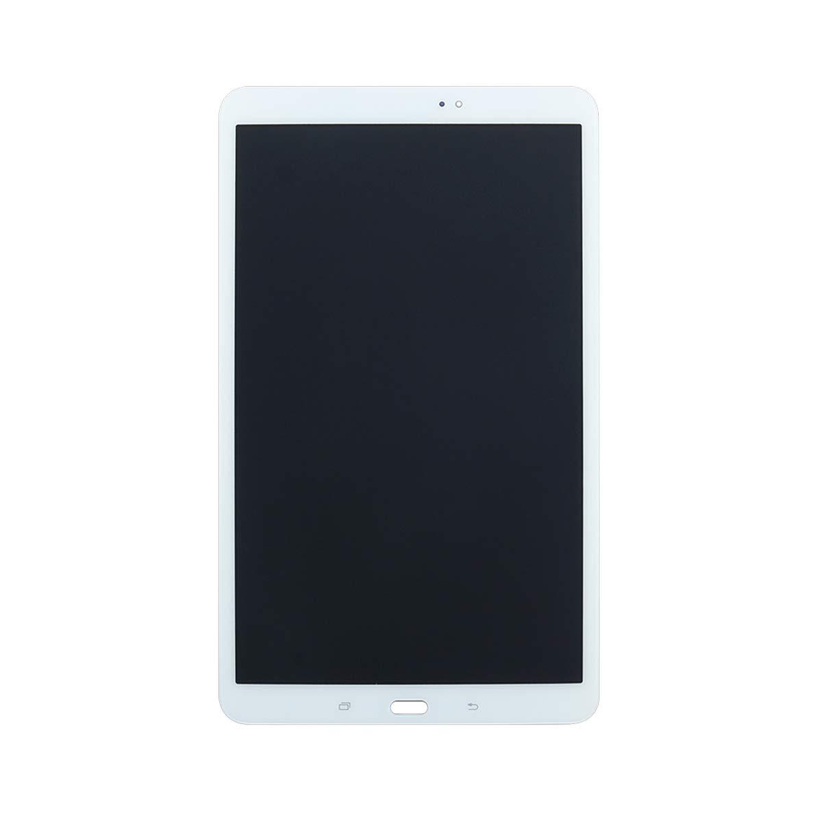 Wei/ß YHX-OU F/ür Samsung Galaxy Tab A 2016 SM-T580 T585 T580 10.1 Reparatur und Ersatz LCD Display Touchscreen Digitizer mit Frei Werkzeuge