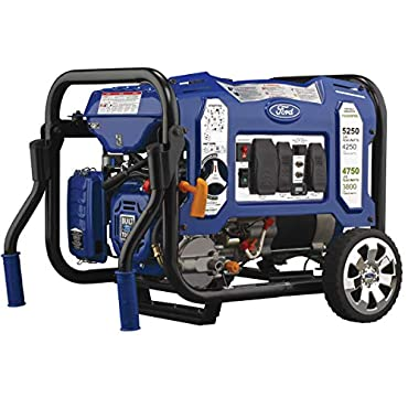 Ford FG5250PBE 5,250W M-Frame Dual Fuel Portable Generator with Switch & Go Technology