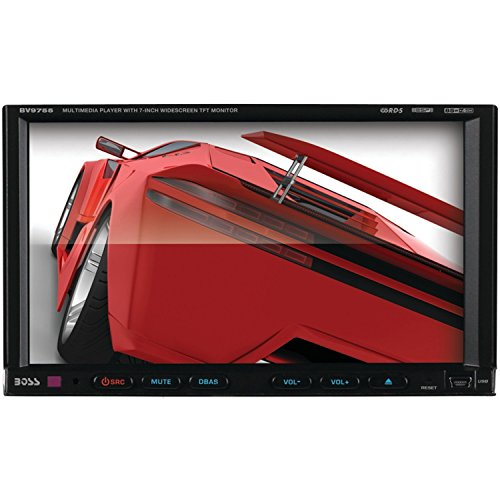 BOSS AUDIO BV9755 Double-DIN 7 inch Motorized Touchscreen DVD Player Receiver, Wireless - 2008 Coupe Bmw 335i