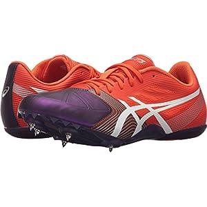 ASICS Women's Hyper-Rocketgirl SP 6 Cross Country Spike Shoe, Orange/White/Dark Purple, 8 M US