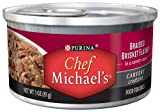 Chef MICHAEL'S Braised Brisket Dog Food, 3-Ounce (Pack of 12), My Pet Supplies